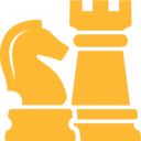 Chess icon for strategy